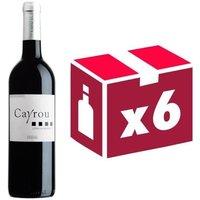 Cayrou AOP Côtes du Roussillon 2016 - Vin rouge x6