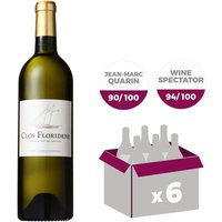 Clos Floridene Graves 2015 - Vin blanc