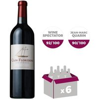CLOS FLORIDENE 2015 Graves - Rouge - 6x 75 cl