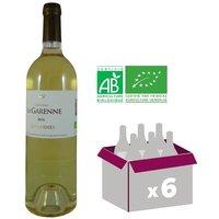 CHÂTEAU LA GARENNE 2015 Sauternes Vin de Bordeaux - Blanc - 75 cl - AOC - BIO x 6