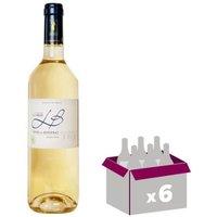 Château La Brie Côtes de Bergerac 2016 - Vin blanc mŒlleux - 75 cl x 6