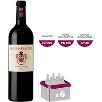 Clos Marsalette 2015 Pessac-Léognan Bordeaux - Vin Rouge - 75 cl