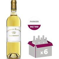 Carmes De Rieussec Sauternes 2015 - Vin blanc