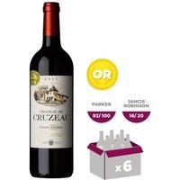 Château de Cruzeau Pessac Léognan 2015 - Vin rouge