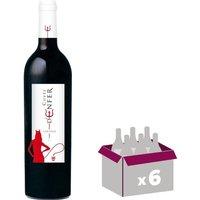 VENTOUX 2014 Cuvee D'Enfer Vin du Rhône - Rouge - 75cl - AOC x 6