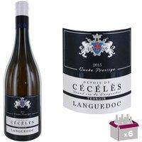 Devois de Cécélès Languedoc 2015 - Vin blanc x6