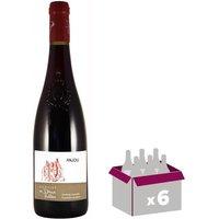 DOMAINE DES DEUX VALLEES Anjou 2015 - Rouge x 6