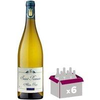 ALAIN GRAS Côte de Beaune 2015 - Saint Romain - Vin Blanc - 75 cl  x6