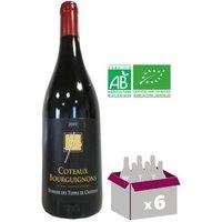 DOMAINE DES TEPPES DU CHATENAY 2015 Côteaux Bourguignons Vin de Bourgogne - Rouge - 75 cl x6 BIO