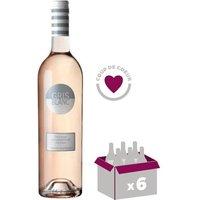Gérard Bertrand Gris Blanc vin rosé x6