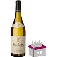 Jean Bouchard 2015 Macon Villages - Vin blanc - 75 cl x6