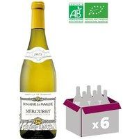 Domaine La Marche Mercurey Bio 2015 - Vin blanc de Bourgogne x6
