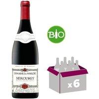 Domaine La Marche Mercurey Bio 2015 - Vin rouge x6
