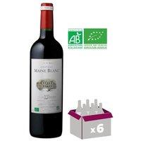 Château Maine Blanc Blaye Côtes de Bordeaux Grand Vin de Bordeaux 2015 - Vin rouge