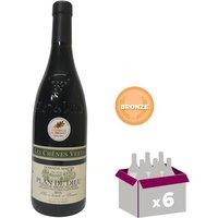 DOMAINE MARTIN 2015 Plan de Dieu Villages Cuvée les Chênes Verts Grand Vin de la Vallée du Rhône - Rouge - 75 cl x6