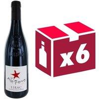 Milles Pierres Lirac 2014 - Vin rouge x6