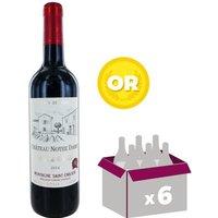 Château Notre Dame 2014 Montagne Saint-Emilion - Vin rouge de Bordeaux