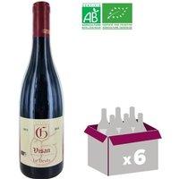 Vin rouge Olivier Cuilleras Côtes du Rhône Village Visan Le Devès - Année 2015 - 0,75 L x6