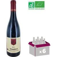 Vin rouge Olivier Cuilleras Vinsobres Visan - Année 2015 - 0,75 L x6