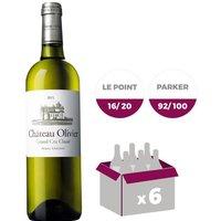 Château Olivier AOC Pessac Léognan 2015 - Vin blanc