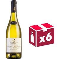 Pascal Bouchard Petit Chablis Blanc Cailloux Grand Vin de Bourgogne 2015 - Vin Blanc