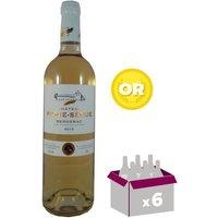 CHÂTEAU PIQUE SEGUE 2016 Bergerac Vin du Sud Ouest - Rosé - 75 cl - AOC x 6
