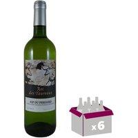 ROC DES TAUREAUX 2015 Vin du Sud Ouest - Blanc - 75 cl - IGP x 6