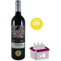 ROC DES TAUREAUX 2015 Vin du Sud Ouest - Rouge - 75 cl - IGP x 6