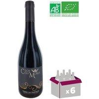 CLOS DES MURES 2015 Visan BIO Terre de Partage Côtes du Rhône Villages - Rouge - 75 cl x6