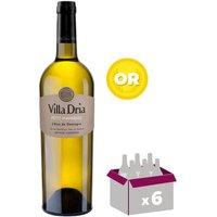Villa Dria Vin blanc doux des Côtes de Gascogne Petit Manseng 2015 - 0,75 L x6