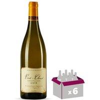 CAVE DE LA VIGNE BLANCHE 2015 Vin de Bourgogne Vire Clesse - Blanc - 6x 75cl