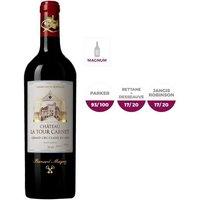 MAGNUM Château La Tour Carnet 2015 Haut-Médoc - Vin Rouge - 1,5 L