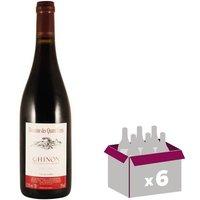 Domaine Quatre Vents Chinon Val de Loire 2017 - Vin rouge