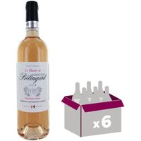 Château Bélingard Plaisir Bergerac 2016 - Vin rosé