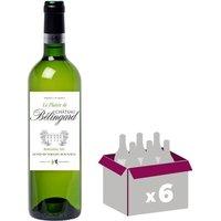 CHÂTEAU BELIGNARD 2016 Plaisir Bergerac - Blanc - 6x 75 cl