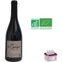 CAROLINE BONNEFOY 2016 Villages Valreas Les Garrigues Côtes du Rhône - Rouge - BIO - 75 cl x6