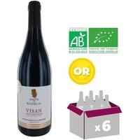 BARON DE ROUSSILAC 2016 Sablet BIO Côtes du Rhône Villages - Rouge - 75 cl x6