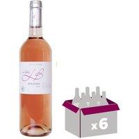 Château La Brie Bergerac 2016 - Vin rosé - 75 cl x 6