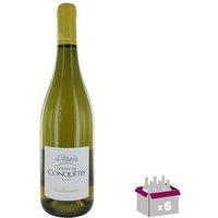 Domaine des Conquêtes Guillaumette IGP Pays de l'Hérault 2016 - Vin blanc