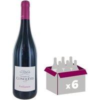 Domaine des Conquêtes Guillaumette IGP Pays de l'Hérault 2016 - Vin rouge