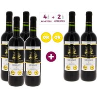 3 + 3 offertes - Côte Atlantique 2016 Vin de Pays de l'Atlantique - Vin rouge de Bordeaux