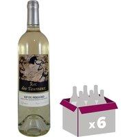 ROC DES TAUREAUX 2016 Vin du Sud Ouest - Blanc - MŒlleux - 75 cl - IGP x 6