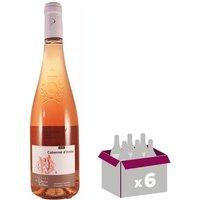 DOMAINE DES DEUX VALLEES Cabernet d'Anjou 2017 - Rosé x 6