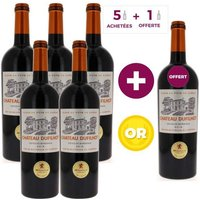 Château Dufilhot 2016 Côtes de Bordeaux -  Vin rouge  - 75 cl x6
