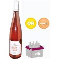 Domaine Edmond Jacquin et Fils Vin de Savoie 2016 - Vin rosé - 75 cl x 6