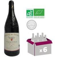 FONTAVIN 2016 Cuvée Terre d'Ancêtres Vacqueyras Vin de la Vallée du Rhone - Rouge - BIO - 75 cl x6