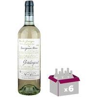 Gouleyant Sauvignon 2016 Côtes de Gascogne - Vin de Sud Ouest - Blanc - 6x 75 cl - IGP