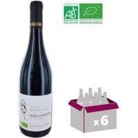 Vin rouge Domaine la Guintrandy Côtes du Rhône Village Suze la Rousse - Année 2016 - 0,75 L x6