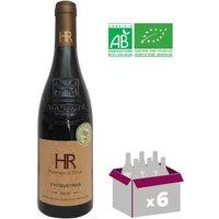 HOMMAGE DU RHONE 2016 Vacqueyras Vin de la Vallée du Rhone - Rouge - BIO - 75 cl x6