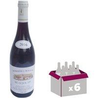 Domaine J. Boulon Beaujolais 2016 - Vin rouge x6